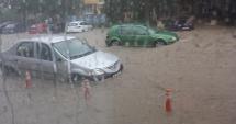 ALERTĂ METEO. Cod GALBEN de fenomene periculoase: furtuni, grindină şi potop