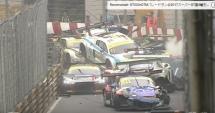 IMAGINI INCREDIBILE! 15 maşini au fost implicate într-un accident, în FIA GT World Cup de la Macao