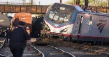 Două trenuri de mare viteză s-au ciocnit în Philadelphia: cel puțin 42 de răniți