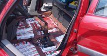 Vameșii au confiscat țigări în valoare de 12.500 euro și trei autoturisme