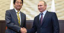 Vladimir Putin și Shinzo Abe, de acord să sporească discuțiile privind semnarea unui tratat de pace