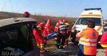 Accident pe DN 79A; o persoană a decedat, alte două - rănite grav