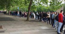Alegeri europarlamentare / Coadă şi la Londra! Românii votează în număr mare