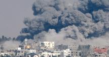 Israelul a bombardat ținte ale regimului sirian ca răspuns la o serie de tiruri