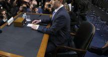 GALERIE FOTO / Detaliu amuzant de la audierea lui Mark Zuckerberg în Senatul american