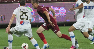 CFR Cluj - Viitorul Constanţa, meci nul, 0 - 0, în Liga I