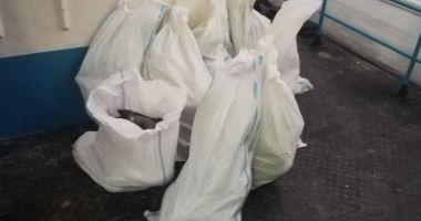 160 kilograme de peşte, confiscate de polițiștii de frontieră