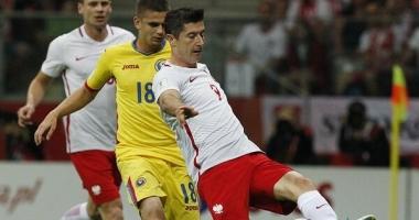 Fotbal: Polonia - România 3-1, în preliminariile Cupei Mondiale din 2018