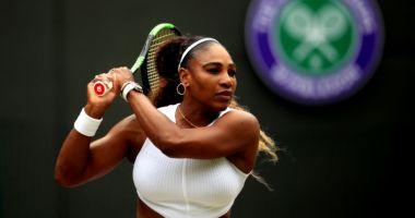 Serena Williams a primit o amendă IMENSĂ la Wimbledon. Iată motivul