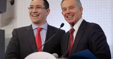Tony Blair primeşte 1 MILION DE LIRE ca să îi dea sfaturi lui Victor Ponta