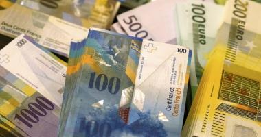 FRANCUL ELVEŢIAN, ÎNGHEŢAT LA CURSUL DE 2,1 LEI. DECIZIA INSTANŢEI ESTE DEFINITIVĂ. Datornicii la bănci în franci elveţieni au obţinut o victorie URIAŞĂ