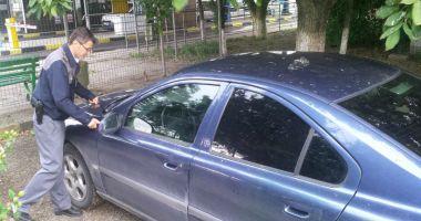 Autoturism căutat de autoritățile din Italia, descoperit de poliţiştii români