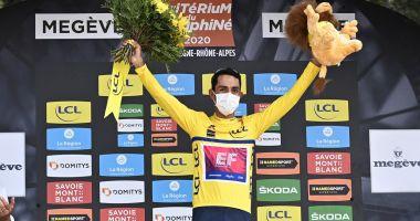Ciclistul Daniel Martinez, câștigătorul cursei Criterium du Dauphine