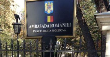 Secţia consulară a Ambasadei României din Chişinău îşi suspendă activitatea
