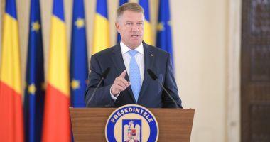Klaus Iohannis: Propunem reforme şi investiţii cu efecte benefice directe asupra vieţii românilor
