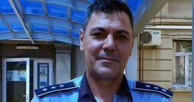 Adrian Glugă a fost înaintat la gradul de chestor de poliție