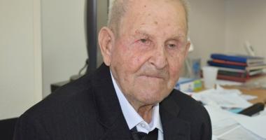 100 de ani de viaţă. Povestea veteranului care a luptat în Al Doilea Război Mondial