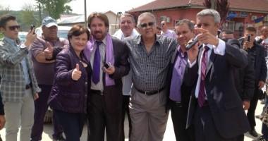 Dan Diaconescu, vizită în judeţul Constanţa