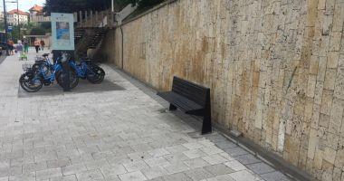 Bănci noi în Constanța! Cei care vandalizează mobilierul, în vizor