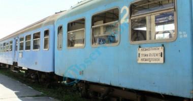 Trenurile au întârzieri, din cauza caniculei
