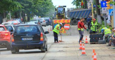 Șoferi, atenție! Trafic restricționat pe bulevardul Aurel Vlaicu din municipiul Constanța!
