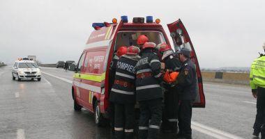 PLAN ROŞU DE INTERVENŢIE! Accident grav, cu doi morţi şi patru răniţi