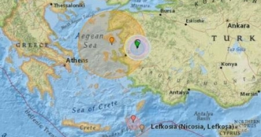 A FOST CUTREMUR!  S-a resimţit în Grecia şi în Turcia