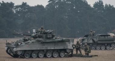 ÎNCEPE NOBLE JUMP. Peste 4.000 de militari români şi din ţări membre ale NATO participă la exerciţiu