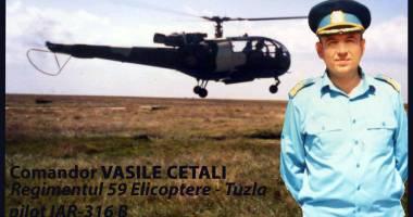 DOLIU ÎN AVIAŢIE! A încetat din viaţă comandorul Vasile Cetali