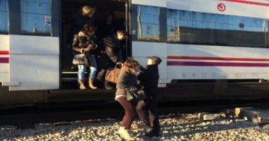 ALERTĂ, BOMBĂ! Un tren pe ruta Varşovia-Berlin, evacuat