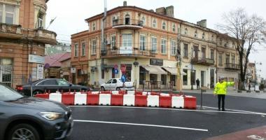 Şoferi, atenţie! Sens unic pe bulevardul Tomis, între Grand şi Lupoaică