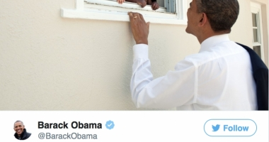 RECORD! Mesajul emoţionant trimis recent de Barack Obama a devenit cel mai apreciat în istoria Twitter-ului