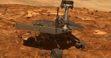 """NASA declară oficial """"decesul"""" robotului Opportunity, care a cercetat suprafaţa planetei Marte"""