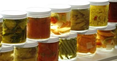 Sterilizarea corectă a conservelor de toamnă