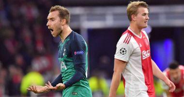 Ajax-Tottenham 2-3 în semifinala UEFA Champions League