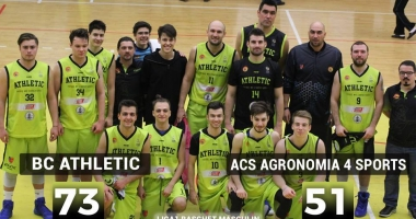 BC Athletic Constanța, victorie importantă cu ACS Agronomia 4 Sports