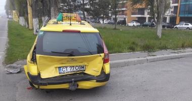 FOTO. ACCIDENT ÎNTRE DOUĂ AUTOTURISME, ÎN MAMAIA