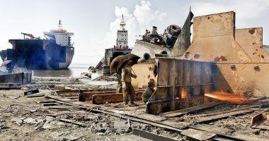 181 de nave, trimise la reciclare