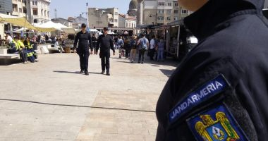 Jandarmii constănţeni, la datorie în weekend