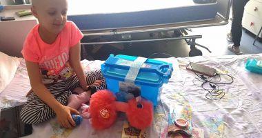 Jucării pentru copiii bolnavi de cancer