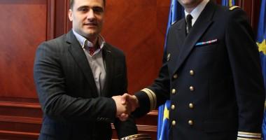Pe cine a primit �n vizit� prefectul Radu Volcinschi
