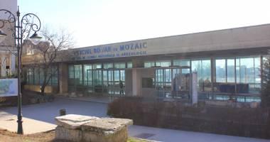 Jale mare la Edificiul Roman  cu Mozaic!