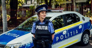 Poliţiştii constănţeni, dotaţi cu camere de luat vederi, autospeciale şi pistoale
