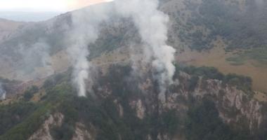 Incendiul de la Parcul Natural Domogled s-a stins după șase zile