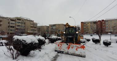 Comandament de iarnă, la Cernavodă