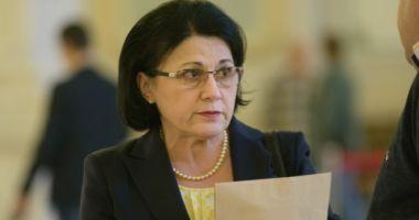 Vizita Ecaterinei Andronescu la Constanța, amânată din cauza vremii