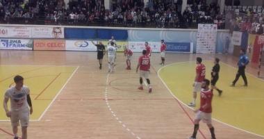 Handbal masculin / HC Dobrogea Sud Constanța, victorie în fața CS Dinamo București