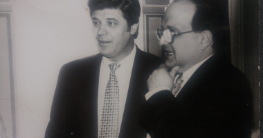 Arhiva de Aur Cuget Liber. Ion Şerban şi Horia Mircea Hossu, pe vremea când afacerile le mergeau strună