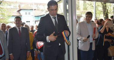 GALERIE FOTO / Centrul Multicultural Jean Constantin a fost inaugurat astăzi, în prezenţa preşedintelui CJC