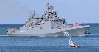 Rusia trimite o nouă navă de război în Marea Mediterană